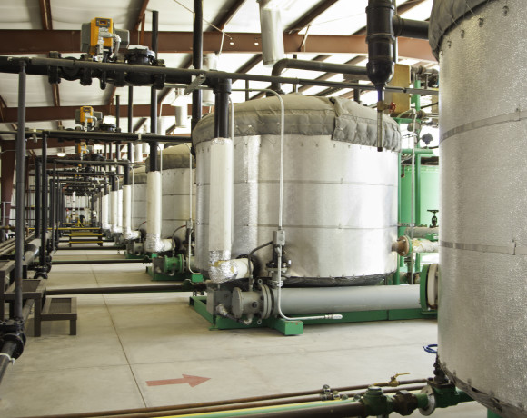 Peru Heights commercial GDiesel® production line in McCarran,NV.